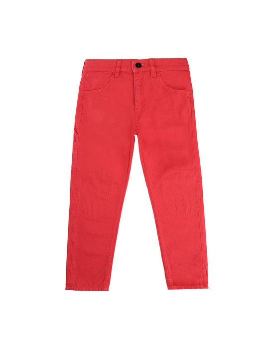 STONE ISLAND KIDS J0110_RE PANTS - 5 POCKETS Man Coral