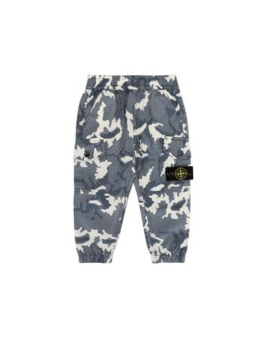 STONE ISLAND BABY 30637 CAMOUFLAGE Trousers Man Blue EUR 113