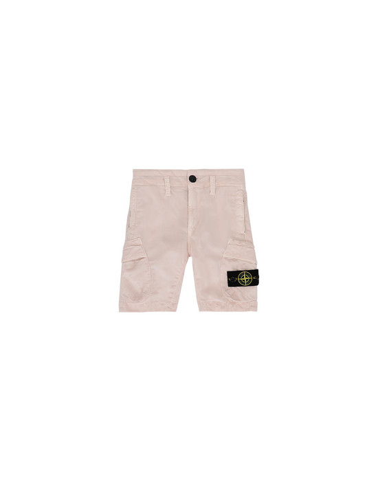 STONE ISLAND JUNIOR L0111 T.CO+OLD Bermuda shorts Man Stucco