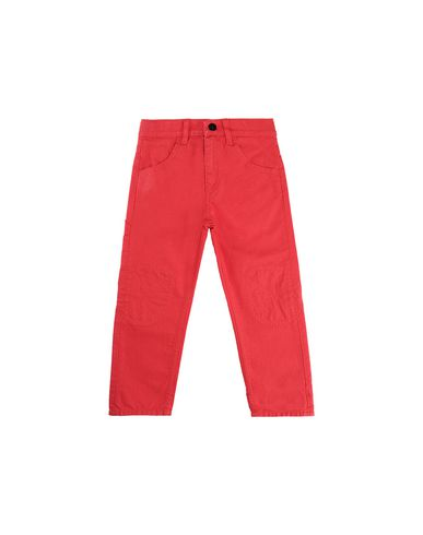 STONE ISLAND BABY J0110_RE PANTS - 5 POCKETS Man Coral EUR 116