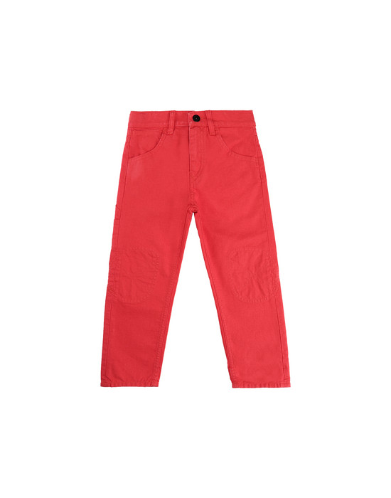 STONE ISLAND BABY J0110_RE PANTS - 5 POCKETS Man Coral