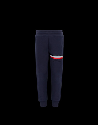 CASUAL TROUSER Dark blue New in Man