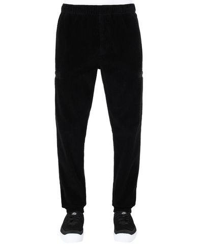 STONE ISLAND 32211 Trousers Man Black EUR 319