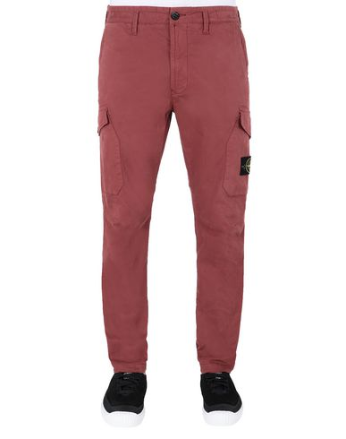 STONE ISLAND 31310 Pants Man Dark Burgundy USD 391