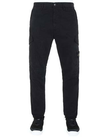 STONE ISLAND 31310 Trousers Man Black EUR 295