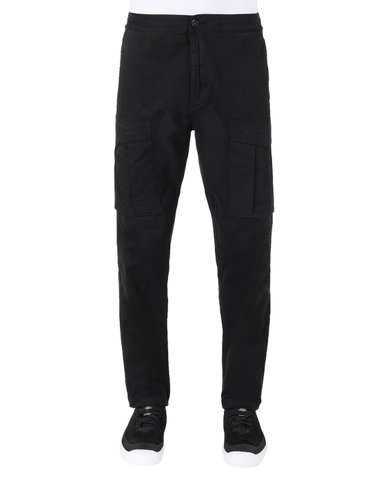 Sold out - STONE ISLAND 30710 Pants Man Black