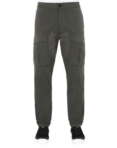 STONE ISLAND 30710 Trousers Man Musk Green EUR 223
