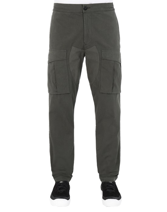 STONE ISLAND 30710 Trousers Man Musk Green