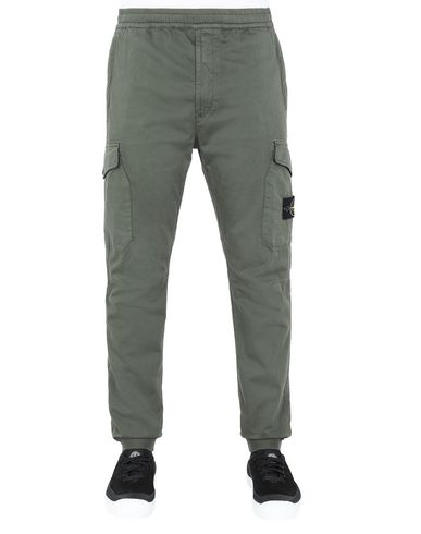 STONE ISLAND 31414 Pants Man Musk Green USD 409
