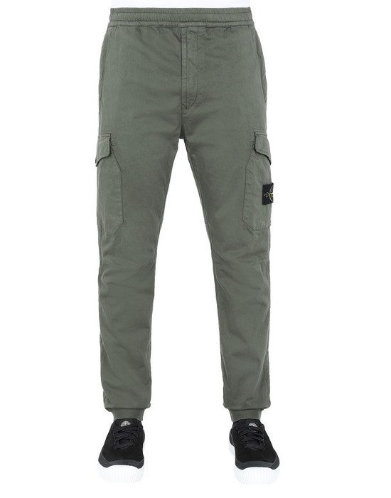 Sold out - STONE ISLAND 31414 Pants Man Musk Green