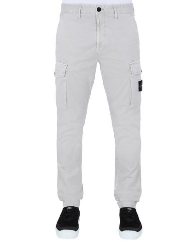 STONE ISLAND 318L1 T.CO+'OLD' Trousers Man Dove Grey EUR 295