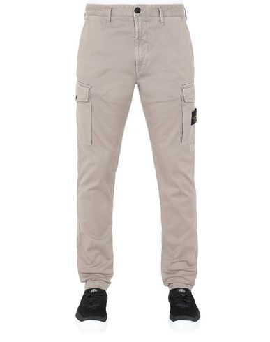 STONE ISLAND 318L1 T.CO+'OLD' Trousers Man Mud EUR 295