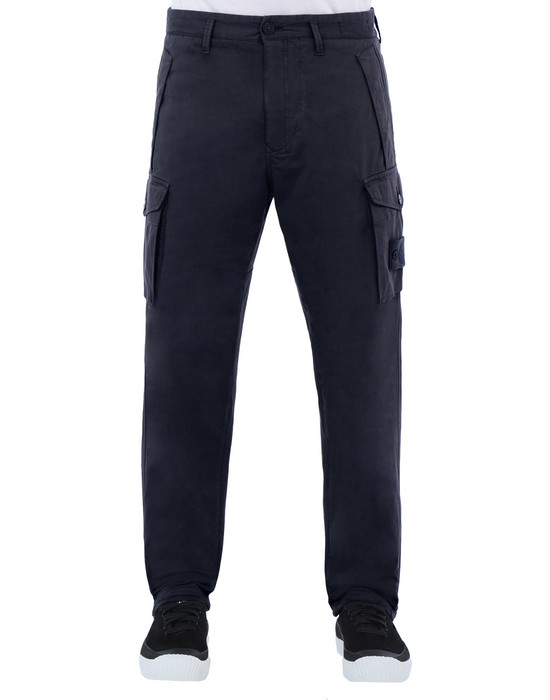 STONE ISLAND 326F4 GHOST PIECE Pants Man Blue