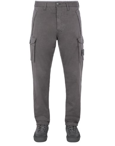 STONE ISLAND 326F4 GHOST PIECE Pants Man Dark Gray USD 443