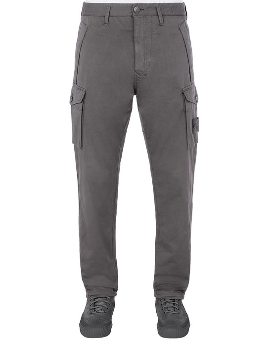 STONE ISLAND 326F4 GHOST PIECE Trousers Man Dark Grey