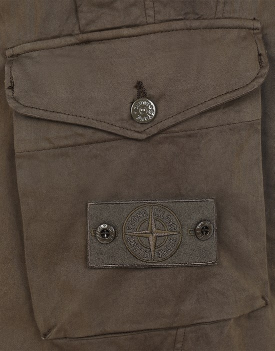 13478396fu - TROUSERS - 5 POCKETS STONE ISLAND