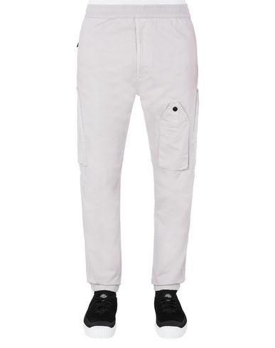 STONE ISLAND 31014 REGULAR PANTS Man Dove Gray EUR 254