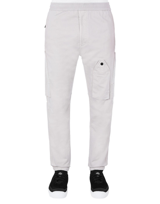 STONE ISLAND 31014 REGULAR TROUSERS Man Dove Grey