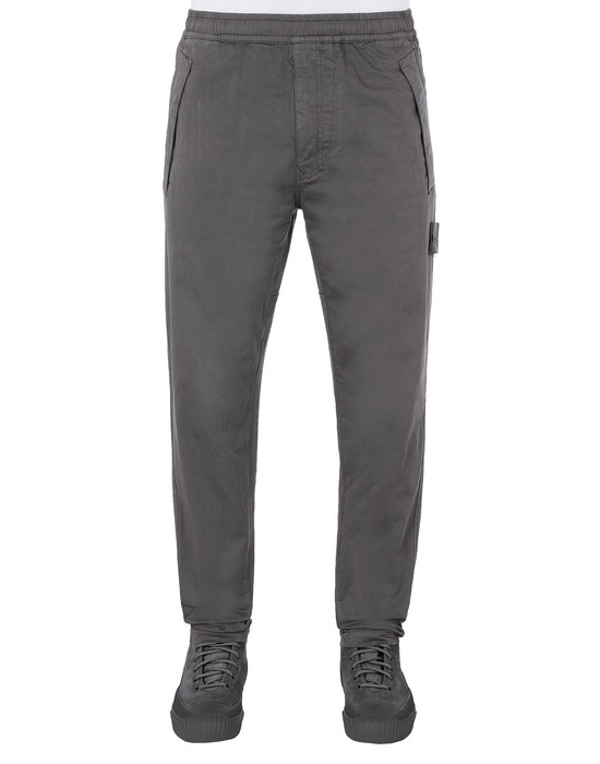 STONE ISLAND 325F4 GHOST PIECE Pants Man Dark Gray