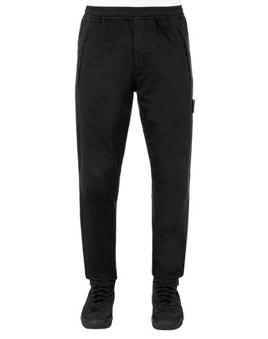 STONE ISLAND 325F4 GHOST PIECE Trousers Man Black EUR 309
