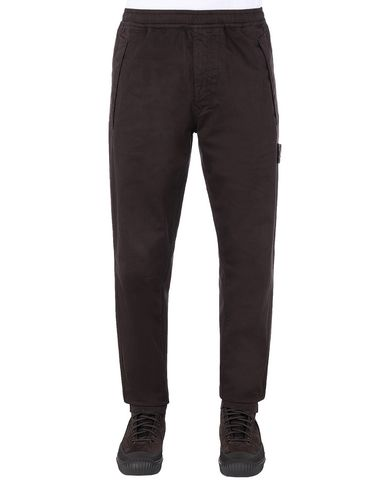 STONE ISLAND 325F4 GHOST PIECE Trousers Man Dark Brown EUR 224