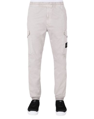 STONE ISLAND 314L1 T.CO+'OLD' Trousers Man Dove Grey EUR 295