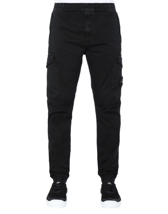 STONE ISLAND 314L1 T.CO+'OLD' Trousers Man Black
