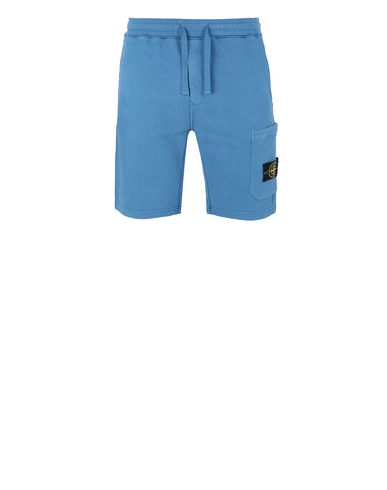 STONE ISLAND 64620 Bermuda shorts Man Periwinkle EUR 189