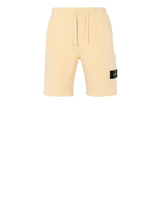 STONE ISLAND 64620 Bermuda shorts Man Butter