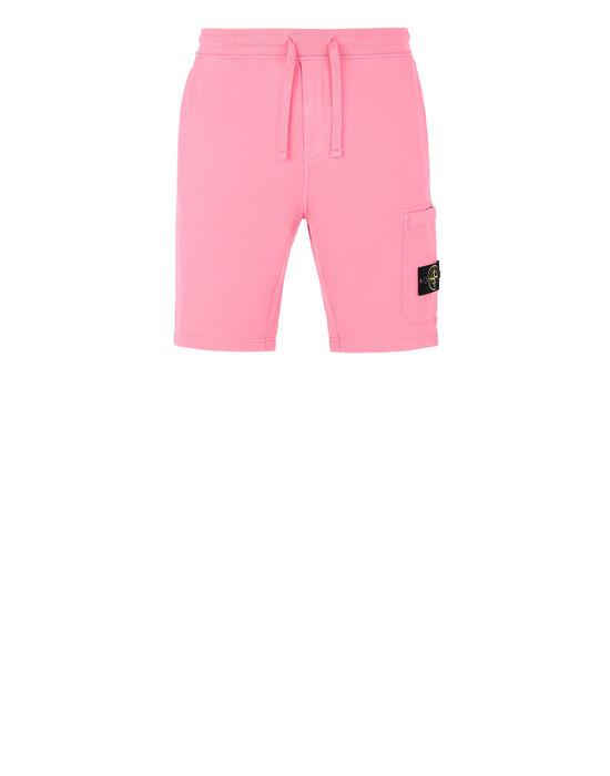 STONE ISLAND 64620 Bermuda shorts Man Cyclamen
