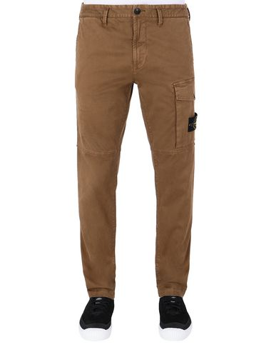 STONE ISLAND 312L1 T.CO+'OLD Pants Man Tobacco EUR 292