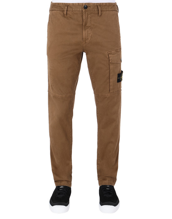 STONE ISLAND 312L1 T.CO+'OLD Pants Man Tobacco