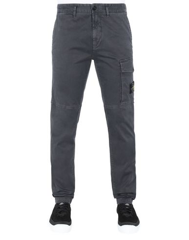 STONE ISLAND 312L1 T.CO+'OLD Trousers Man Steel Grey EUR 270