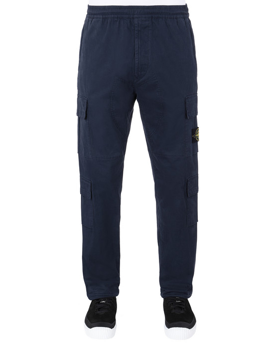 Sold out - STONE ISLAND 31710 Pants Man Marine Blue