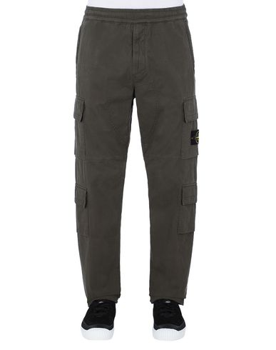 STONE ISLAND 31710 Trousers Man Musk Green EUR 349