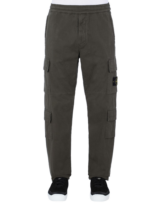 STONE ISLAND 31710 Pants Man Musk Green
