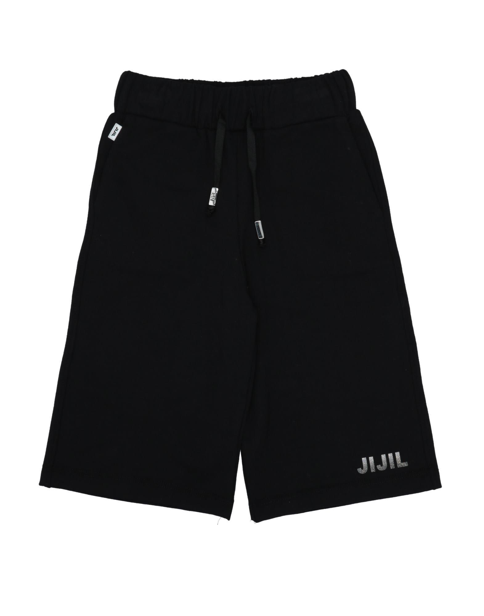Jijil Jolie Kids' Bermudas In Black