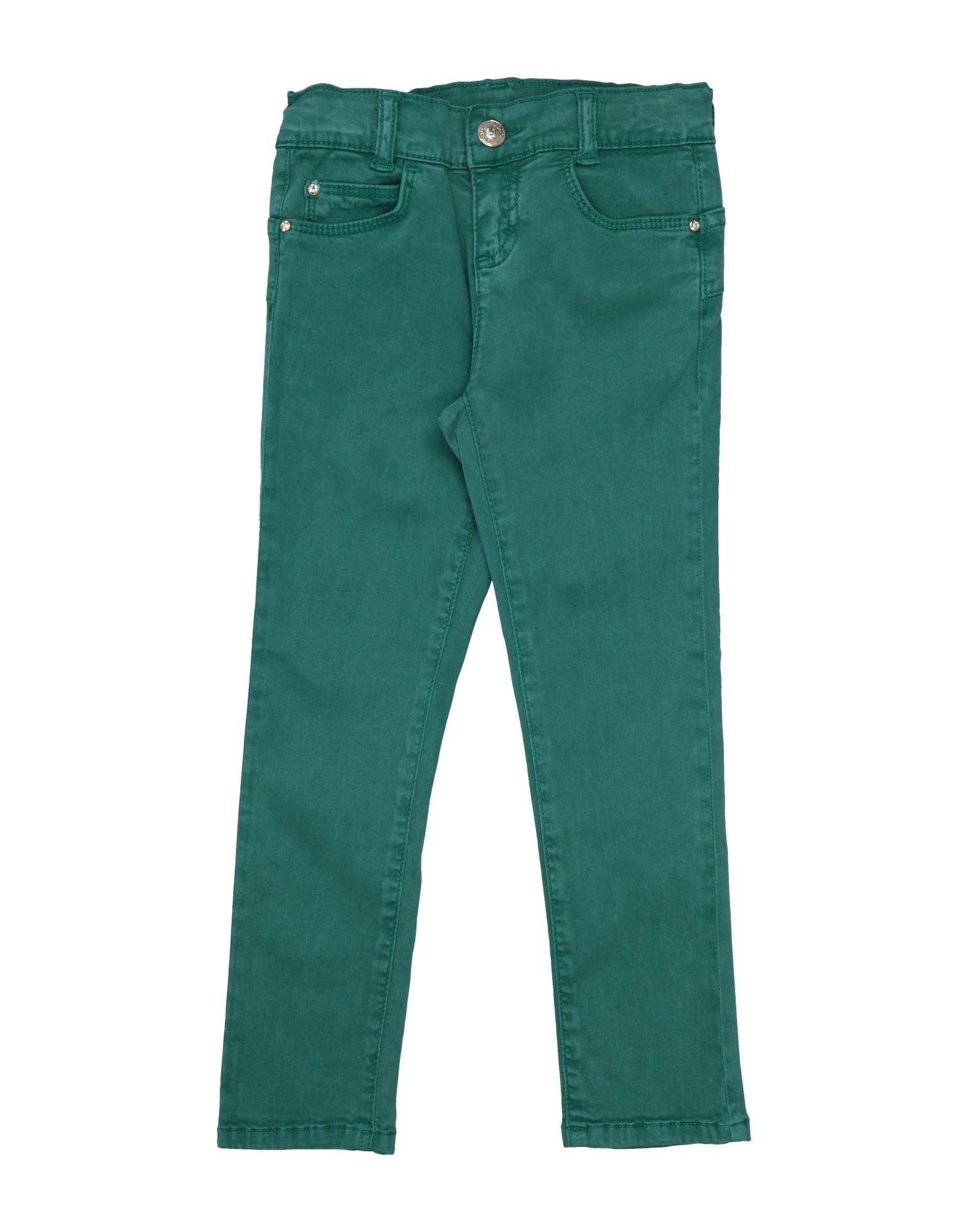 Liu •jo Kids' Casual Pants In Light Green
