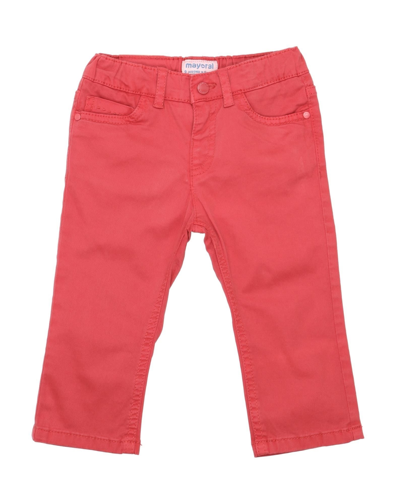 Mayoral Kids' Casual Pants In Red