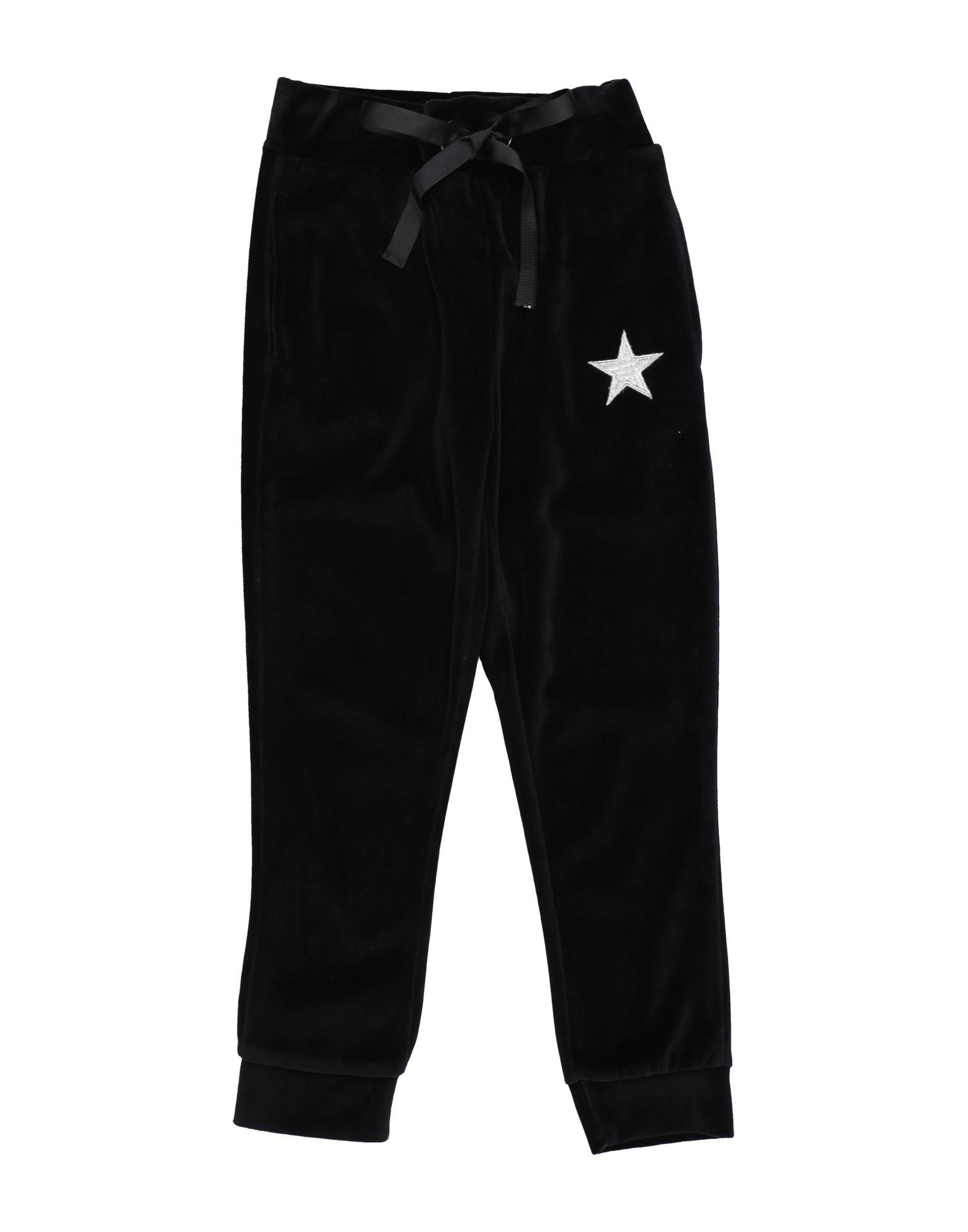 My T-shirt Kids' Casual Pants In Black