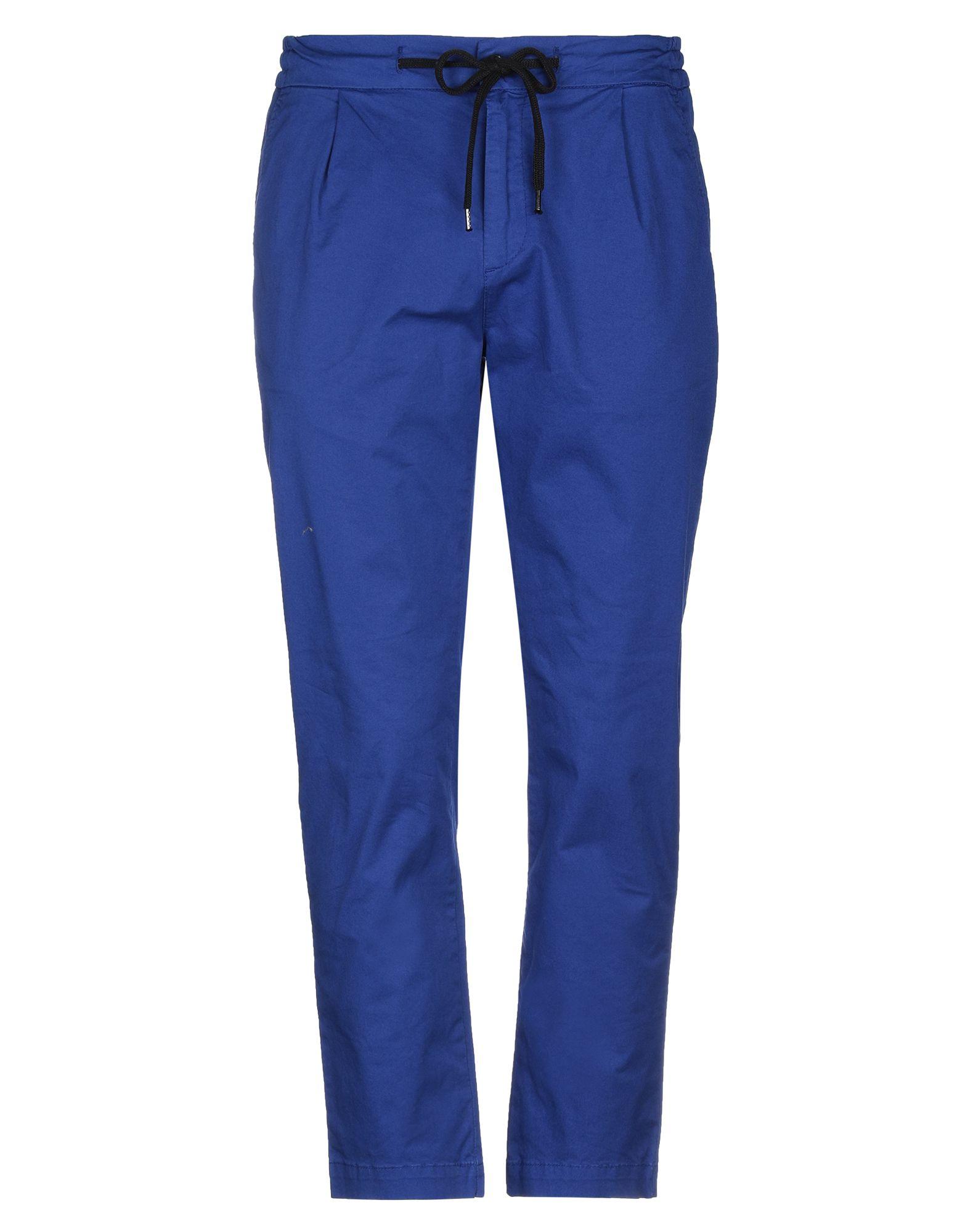 《セール開催中》AMISH メンズ パンツ ブライトブルー S コットン 97% / ポリウレタン 3%