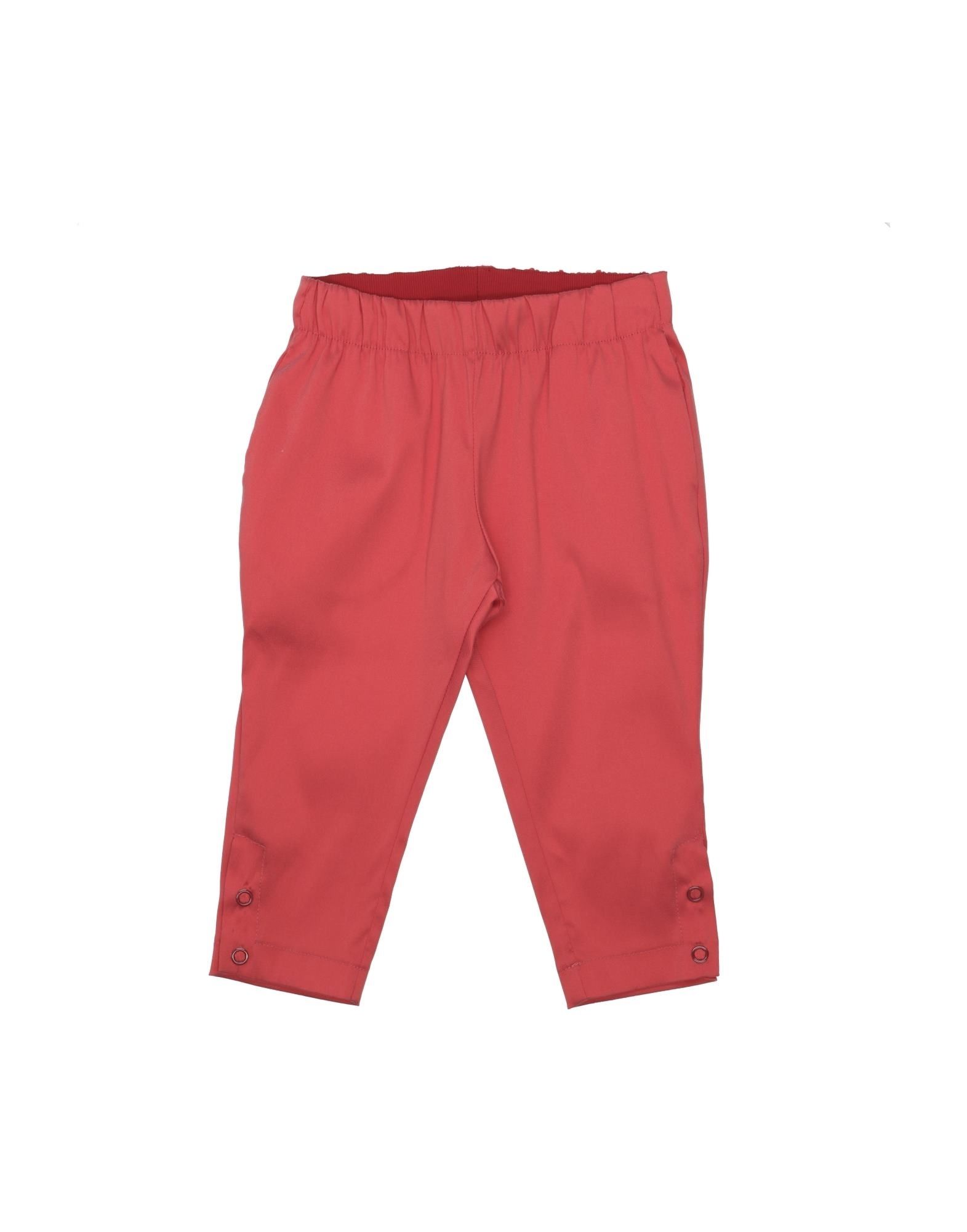 Jeckerson Kids' Casual Pants In Red