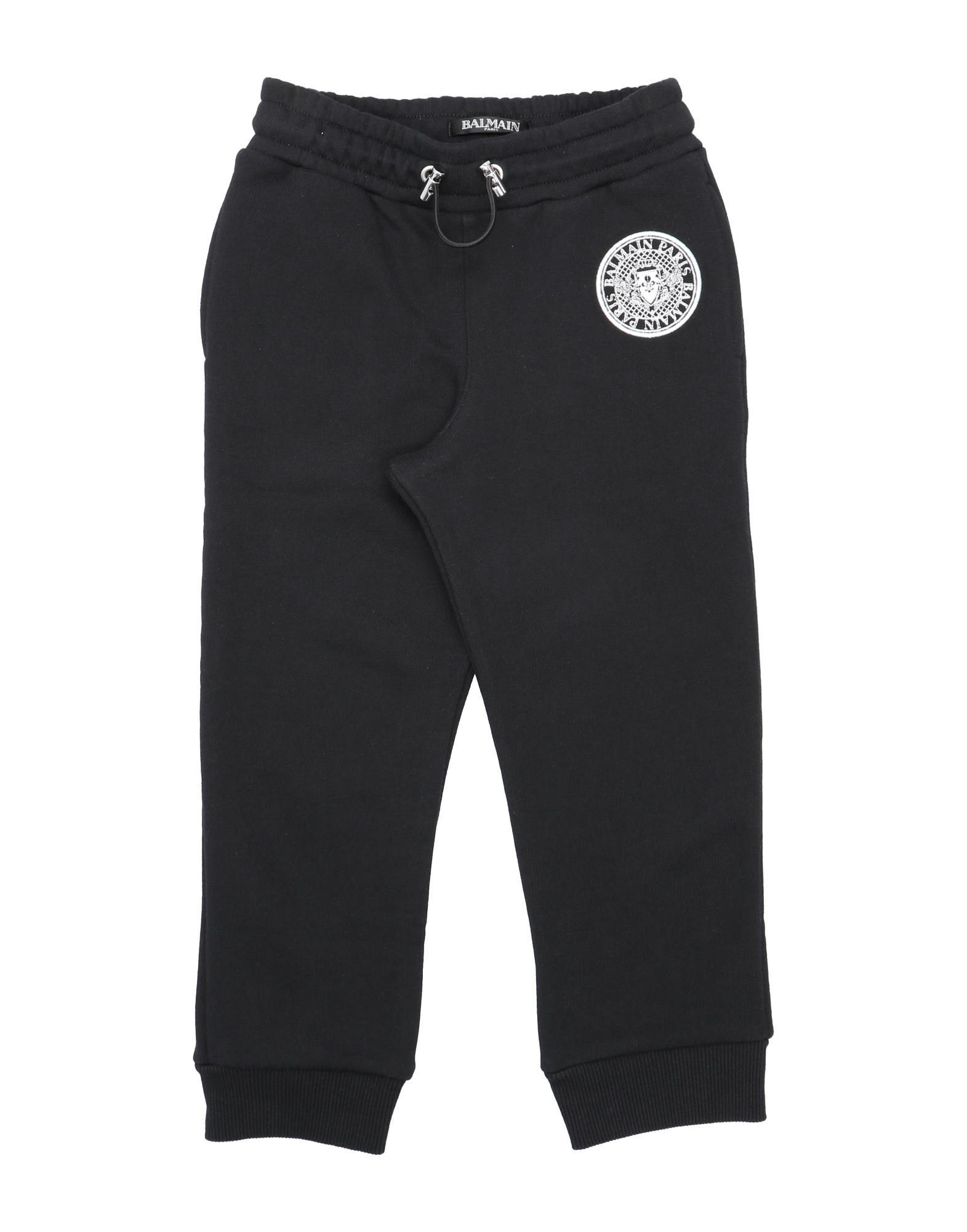 Balmain Kids' Casual Pants In Black