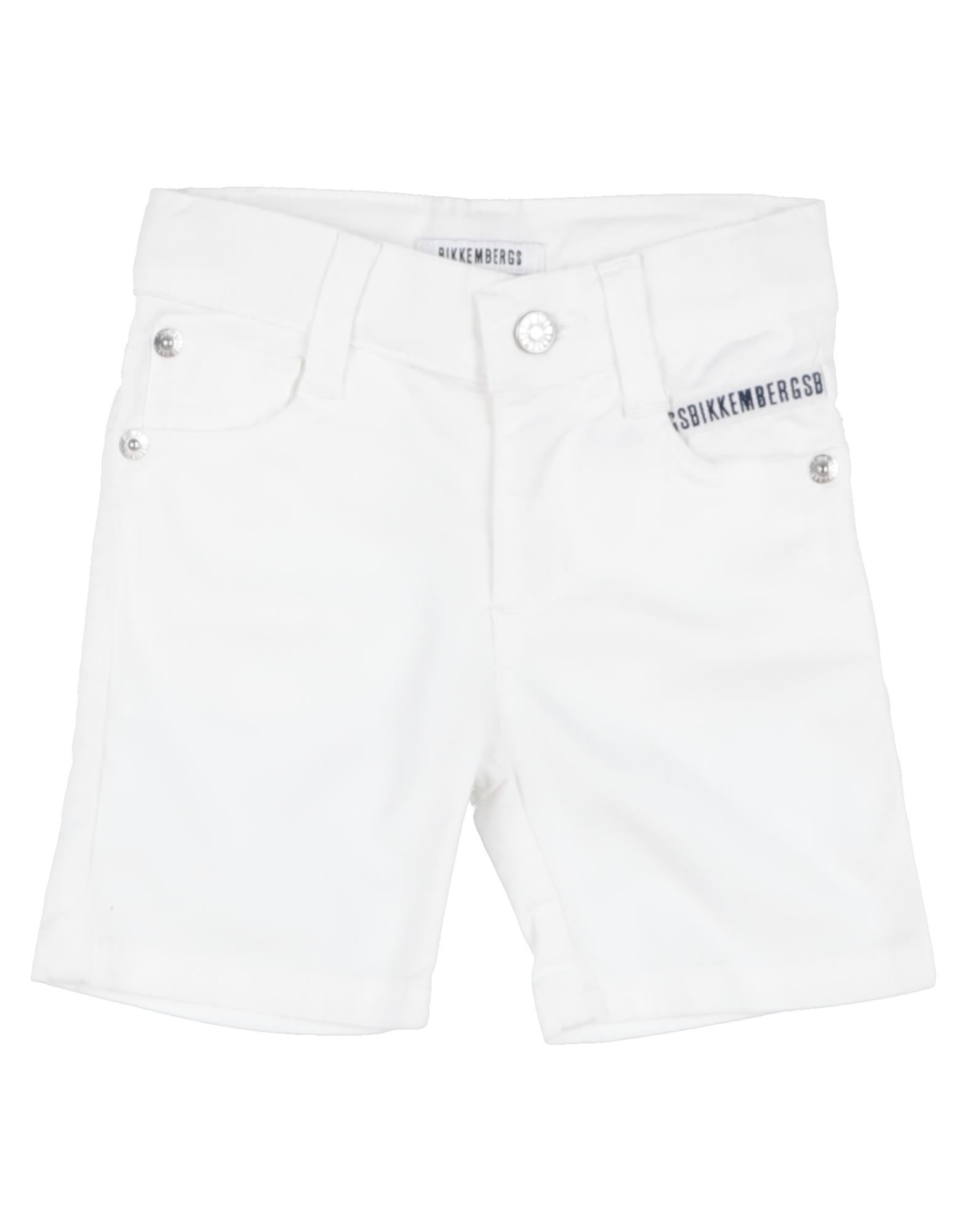 Bikkembergs Kids' Bermudas In White