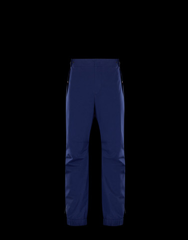 ATHLETIC TROUSERS Blue Category Ski trousers Man