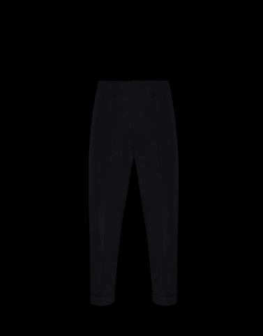 ATHLETIC TROUSERS Black Trousers Man