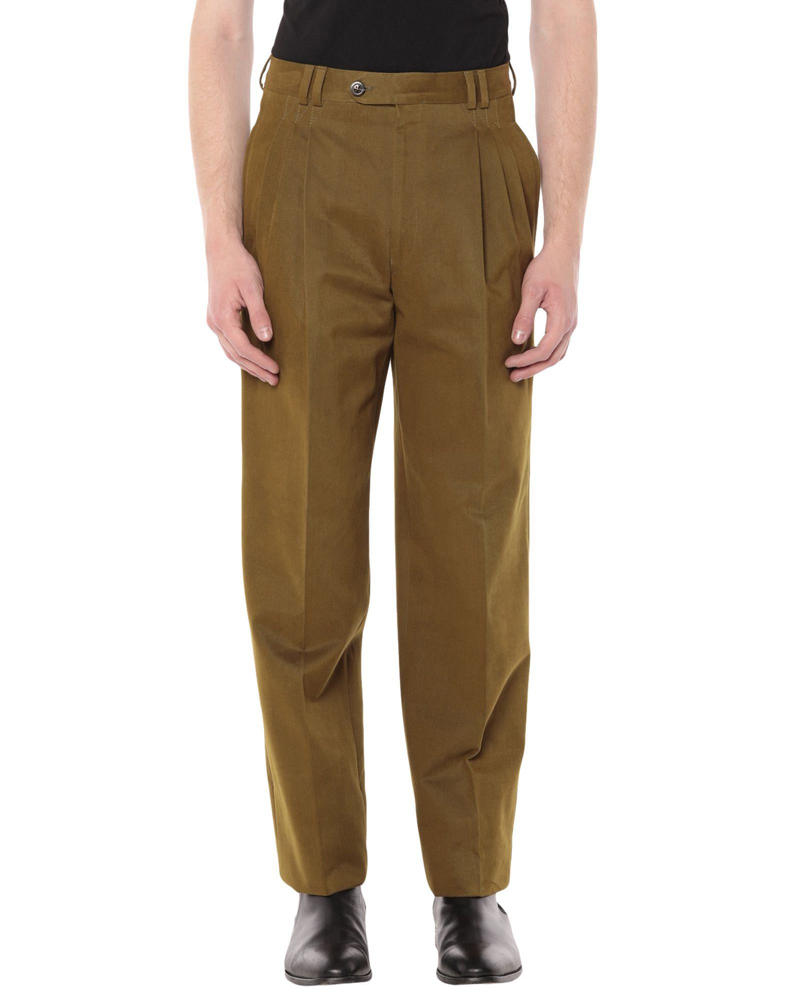 《セール開催中》BERRY メンズ パンツ グリーン 44 コットン 100%