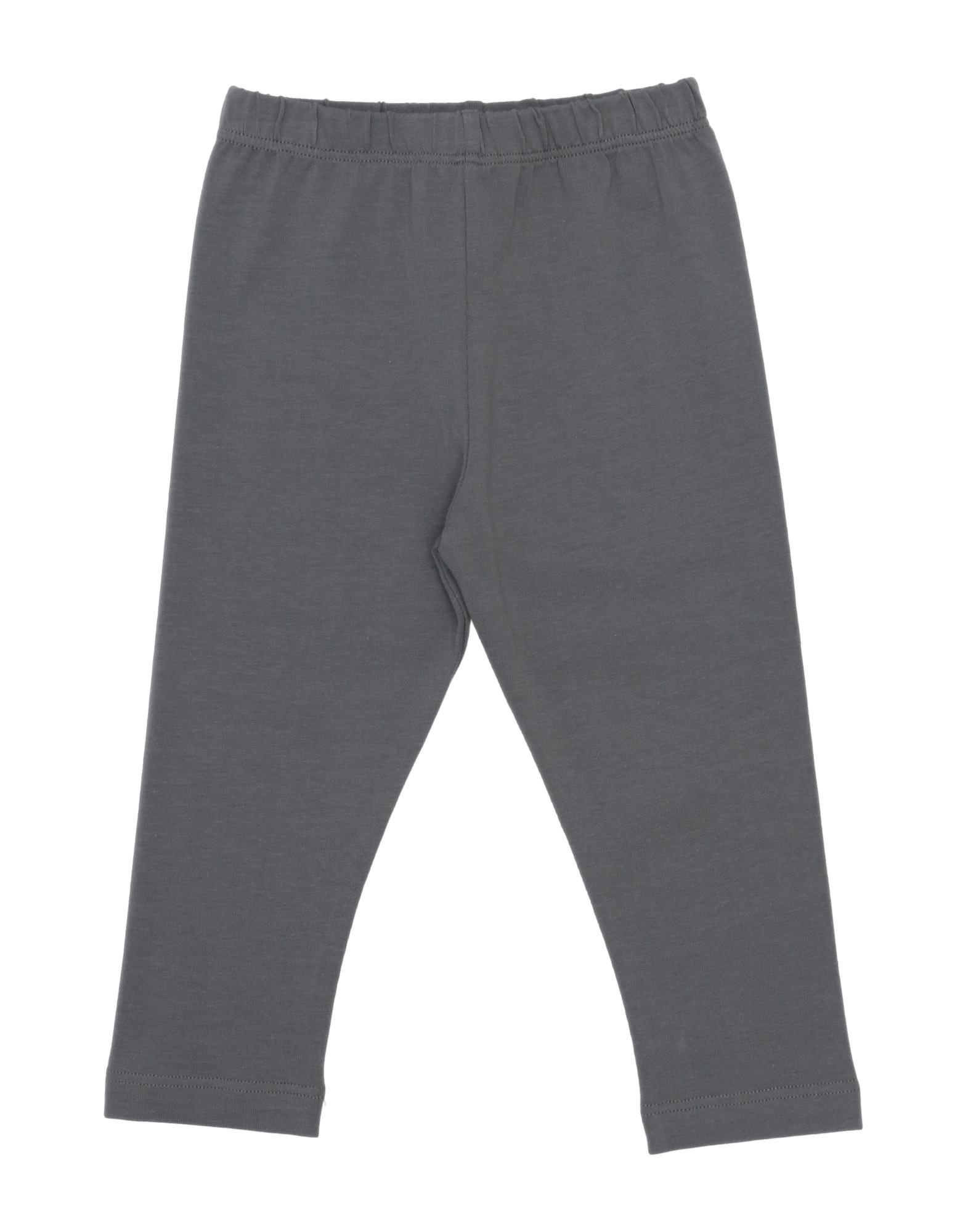 Bisous Kids' Casual Pants In Grey