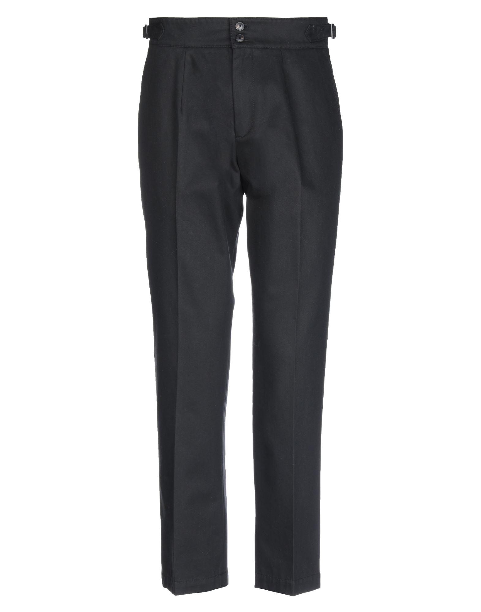 《セール開催中》CELLAR DOOR メンズ パンツ ブラック 46 コットン 100%