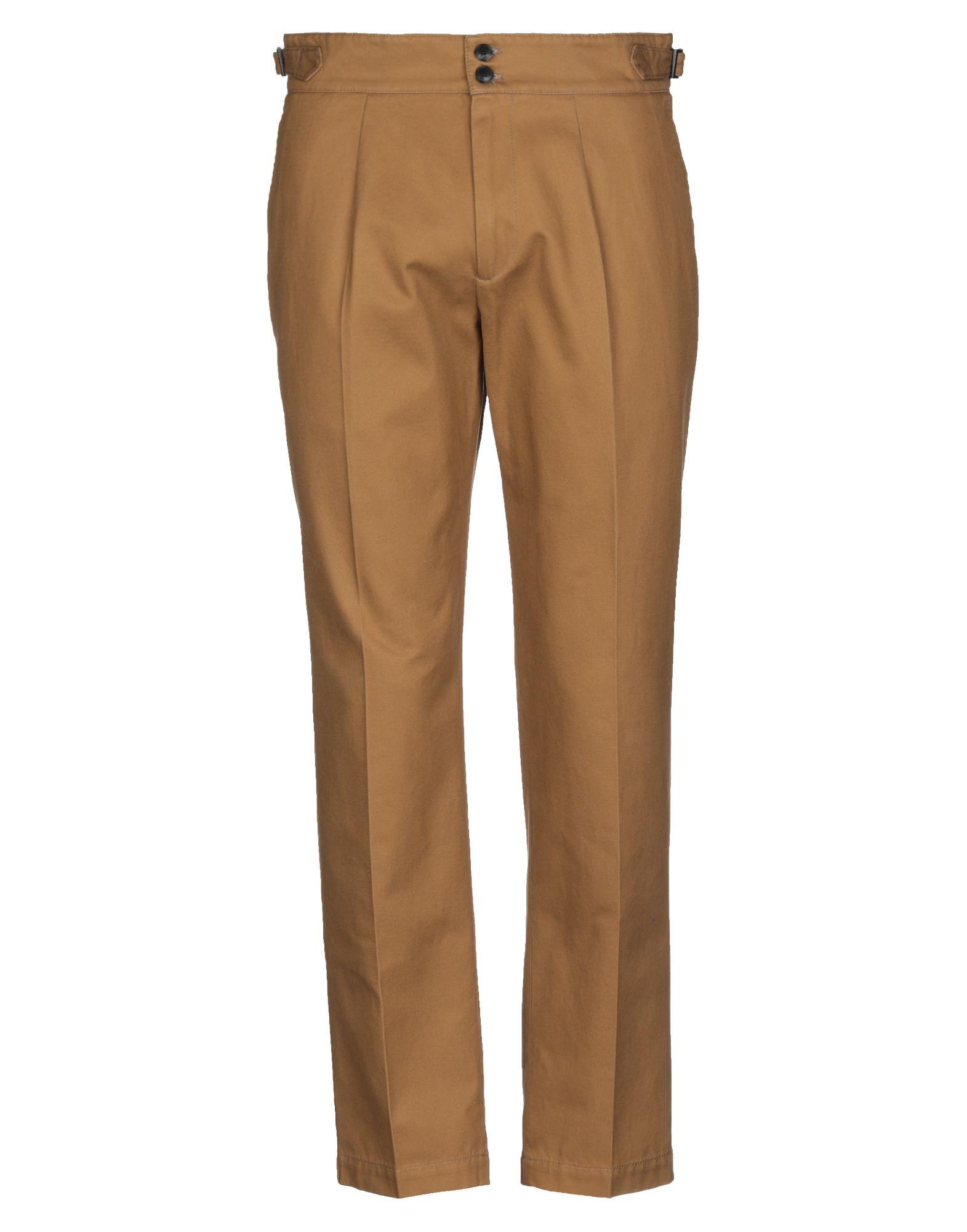 《セール開催中》CELLAR DOOR メンズ パンツ キャメル 46 コットン 100%